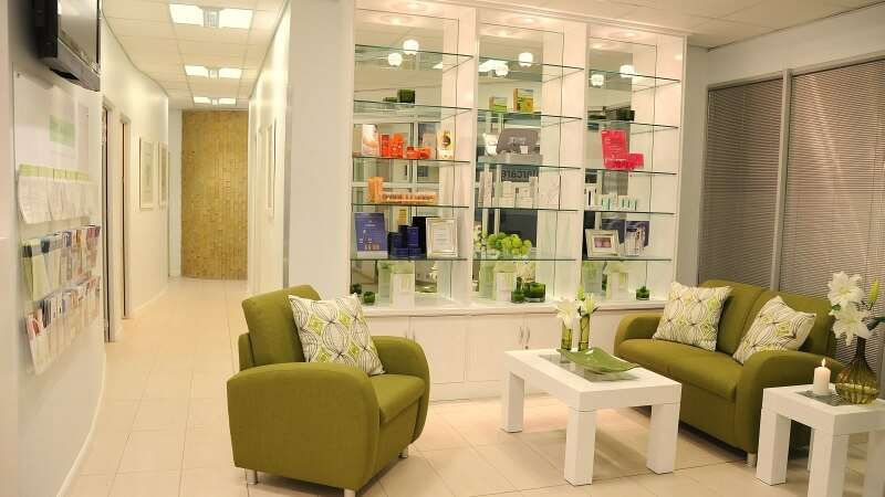Skin Renewal Irene waiting area, Centurion