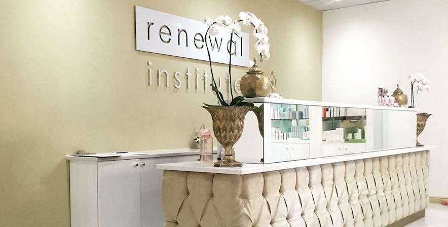Skin Renewal Stellenbosch reception area at Die Boord Shopping Centre