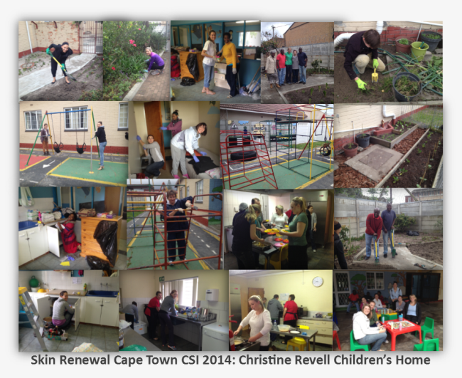 Cape Town SkiN renewal charity Christine Revell childrend home