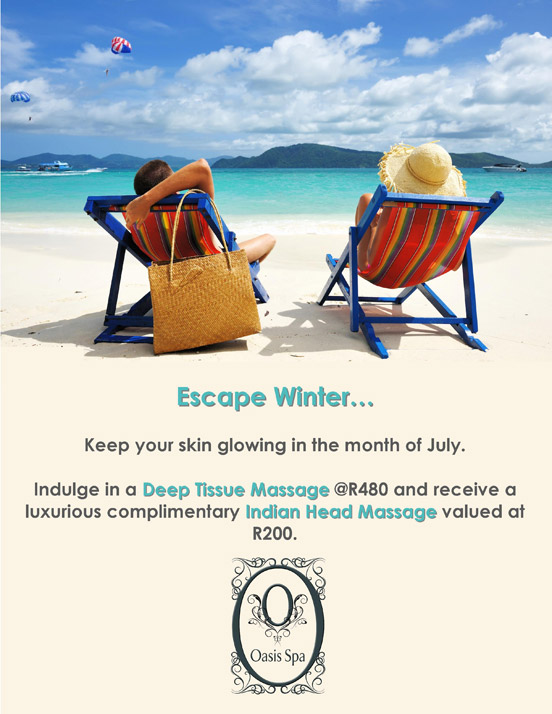 Oasis Spa July Promotion